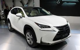 Chi tiết Lexus NX: Đối thủ mới của BMW X3, Mercedes-Benz GLK và Audi Q5