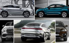 Mercedes-Benz Coupe SUV và BMW X6 - Kẻ tám lạng, người nửa cân
