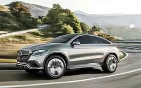 Mercedes-Benz Coupe SUV - Đối thủ của BMW X6 lộ mặt