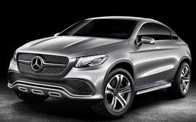 Mercedes-Benz MLC Coupe: Gửi lời thách thức tới BMW X6