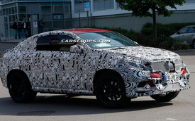 Mercedes-Benz MLC xuất hiện trên đường thử