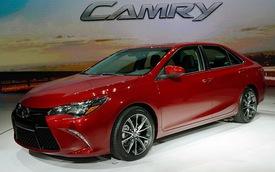 Toyota Camry 2015: Diện mạo mới, trang bị hiện đại hơn