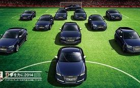 Audi giới thiệu loạt xe phiên bản Samurai cho Nhật Bản