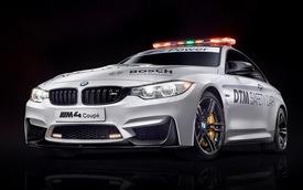 BMW M4 Coupe trở thành xe an toàn tại giải đua DTM 2014