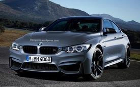 BMW M4 Gran Coupe sẽ ra mắt vào tháng 9
