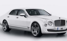 Bentley mừng sinh nhật lần thứ 95 với mẫu Mulsanne 95 đặc biệt