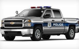 Bán tải cỡ lớn Chevrolet Silverado có phiên bản cảnh sát