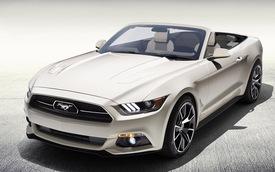 Ford Mustang 50 Years Convertible độc nhất được đấu giá