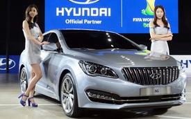 Sedan hạng sang Hyundai AG xuất hiện tại Hàn Quốc