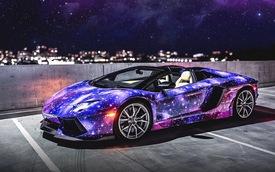 Lamborghini Aventador Roadster tỏa sáng như dải ngân hà