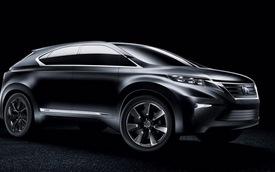Crossover 7 chỗ mới của Lexus có tên TX