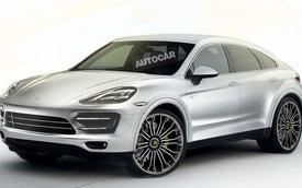 Porsche Cayenne Coupe - Đối thủ mới của BMW X6