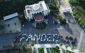 100 xe Mitsubishi Xpander xếp chữ hoành tráng tại Hạ Long: Hành trình đầy ý nghĩa và cảm xúc