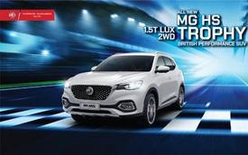 MG HS 1.5T Trophy giá 888 triệu chính thức ra mắt tại Việt Nam