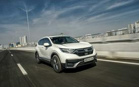 Honda CR-V được ưu đãi 100% lệ phí trước bạ trong tháng 7
