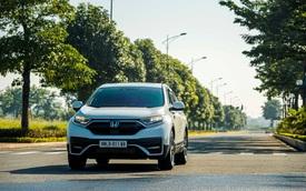 Honda CR-V ưu đãi 100% trước bạ trong tháng 8