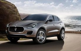 Maserati Levante được sản xuất vào cuối năm sau