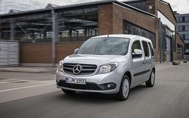 Mercedes Citan Crewbus 2014 lộ diện
