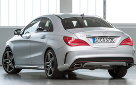 CLA giúp Mercedes-Benz tăng doanh thu trong quý III