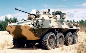 """BTR-90 - Mẫu thiết giáp bị quân đội Nga """"bỏ rơi"""""""