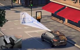Công nghệ tự động tránh chướng ngại vật trên xe Ford