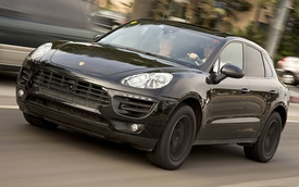 Lộ tin nóng chi tiết mẫu Porsche Macan 2014