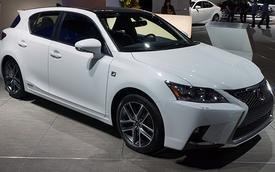 Lexus CT 200h 2014 chính thức ra mắt