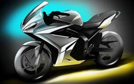 Hình ảnh phác họa chính thức của Triumph 250 mới
