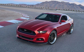 Ford Mustang 2015 sẽ ra mắt vào thứ 5 tuần sau