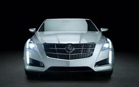 Cadillac tung quảng cáo cho mẫu CTS mới cực kỳ ấn tượng