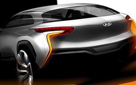 Hyundai hé lộ mẫu SUV mới có tên Intrado