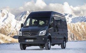 Mercedes-Benz giới thiệu Sprinter dẫn động 4 bánh mới