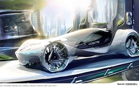 Hãng xe Trung Quốc SAIC giành giải thưởng thiết kế tại triển lãm Los Angeles