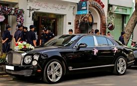 Phantom rồng và Bentley Mulsanne hội ngộ tại đám cưới