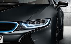 BMW khoe hệ thống đèn pha laze sáng gấp 5 lần đèn LED