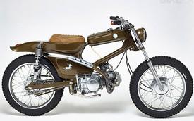 Honda Super Cub hóa thân thành xe đua bùn đất
