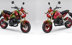 Honda giới thiệu Grom phong cách Ninja rùa sặc sỡ