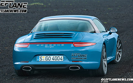 Porsche 911 Targa 2015: Thay đổi không đáng kể
