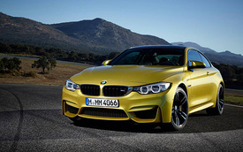 BMW M3 và M4 2014 tiết kiệm nhiên liệu hơn 25%