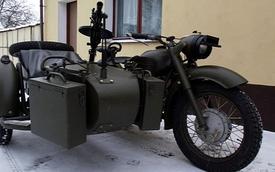 Ural MV750 hồi sinh với súng máy