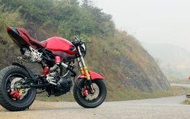 Chàng sinh viên độ môtô theo phong cách Ducati chỉ với 20 triệu
