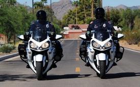 Kawasaki thu hồi Concours 14 dành cho cảnh sát