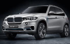 BMW Concept5 X5 eDrive: Chỉ cần 3,8 lít nhiên liệu cho 100 km