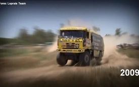 Những thước phim đẹp nhất về giải đua Dakkar hạng xe tải