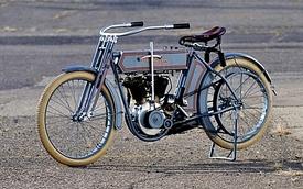 Xe Harley-Davidson đời đầu có giá đắt ngang siêu xe