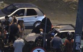 Gây tai nạn, tháo chạy 10km với xác nạn nhân mắc trên kính chắn gió