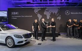 Mercedes-Benz C-Class 2015 chính thức đi vào sản xuất