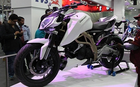 "TVS Draken - ""Đứa con lai"" giữa Kawasaki, KTM và BMW"