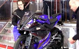 Yamaha YZF-R125 trở lại với phiên bản 2014 cực kỳ ấn tượng