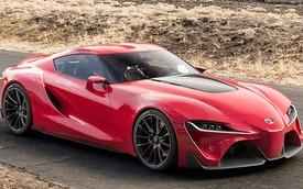 Toyota hồi sinh thương hiệu Supra